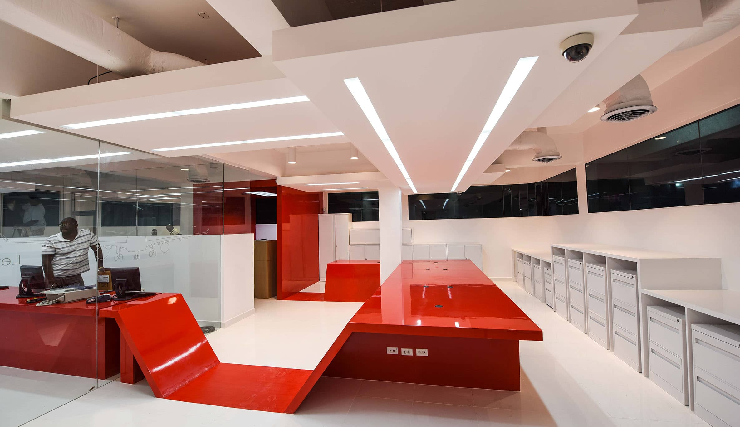 Virgin atlantic sales office argo development studio for Sales office design